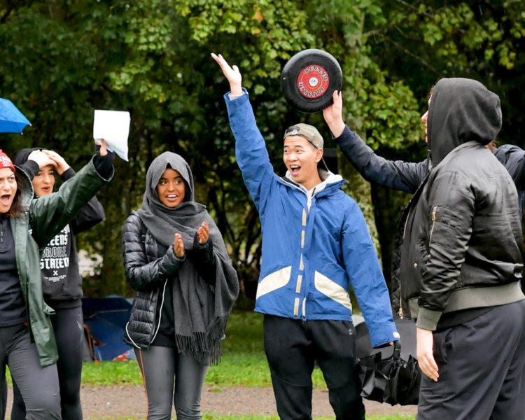AKA-GAMES idrettsdag på Akademiet Oslo. Foto.