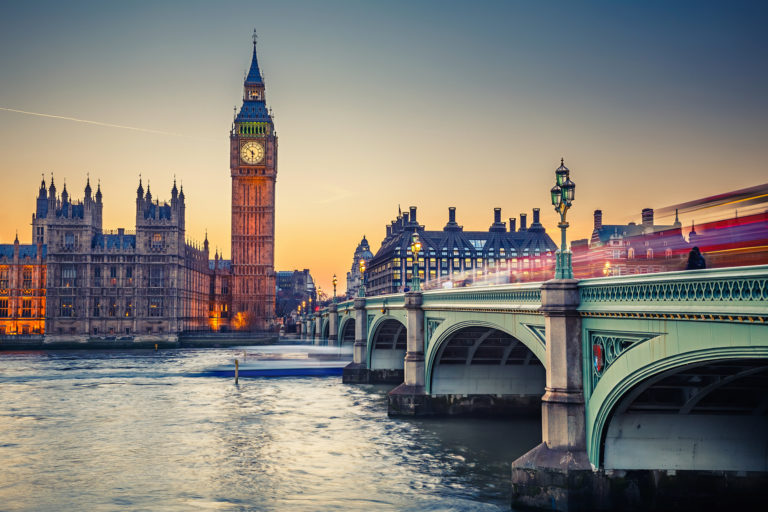 Big Ben, London. Foto.